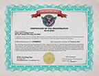 FDA Cosmetics Registration Certificate